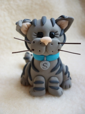 Pin Tabby Cat Birthday Cake From Sugarlicious Ltd Cake On